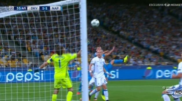 Dinamo Kiev - Napoli, 1 a 2: il secondo gol di Milik [VIDEO]