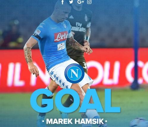 Palermo Napoli: 0 - 1, il gol di Hamsik [VIDEO]