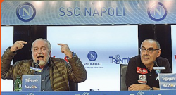 Tuttosport - De Laurentiis e Sarri sfidano Roma, ma soprattutto la Juve!