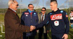 """Montervino: """"Napoli, che onore!"""", Vinicio sicuro: """"Il prossimo sarà l'anno buono"""""""