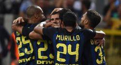 Avversarie Napoli, l'Inter si ferma: solo un pareggio di rigore a Bologna