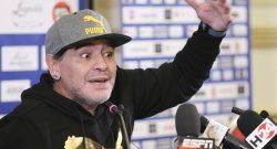 """Maradona: """"Mertens incredibile, il Napoli sta facendo bene. Per lo scudetto però..."""""""