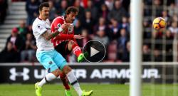 Gabbiadini torna in campo ma sbaglia un rigore contro il Manchester United [VIDEO]