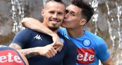 """""""Hamsik più altri 10!"""", Sarri è stato chiaro: che feeling col capitano"""