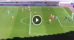 Gol di Dries Mertens, tris azzurro! Napoli 3 Benevento 0 [VIDEO]