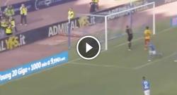 Gol di Dries Mertens, tripletta personale! Napoli 6 Benevento 0 [VIDEO]