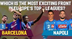 Miglior tridente d'attacco? Tra Neymar, Ronaldo e Cavani spuntano anche i piccoletti del Napoli [FOTO]