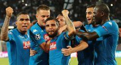 UFFICIALE - Manchester City-Napoli in chiaro su Canale 5