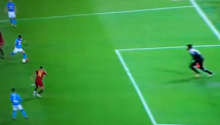 Gol di Lorenzo Insigne, Napoli in vantaggio! Roma 0 Napoli 1 [VIDEO]