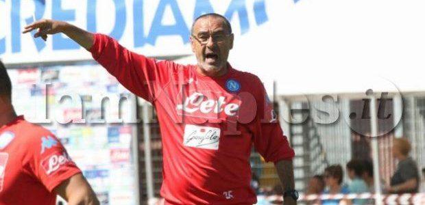 [IAM] - Napoli, il report dell'allenamento di oggi: Sarri prepara la sfida con l'Inter