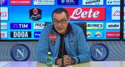 """Sarri: """"Col Chievo bene tatticamente ma gli attaccanti non sono stati brillanti"""""""