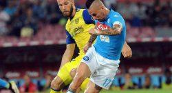 Napoli-Chievo, tre cambi per Sarri. Castro e Birsa out. Probabili formazioni