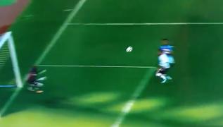 Napoli in vantaggio con il Crotone, gol di Arek Milik