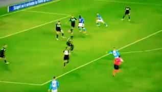 Gol spettacolare di Insigne, che destro all'incrocio! Napoli 2 Sassuolo 0 [VIDEO]