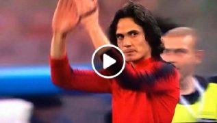Cavani entra al San Paolo e omaggia i tifosi, standing ovation da brividi per il Matador! [VIDEO]