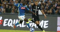 """PSG, Mbappé ammette: """"Giocare al San Paolo è proprio dura! Il Napoli viene spinto da tutti quei tifosi..."""""""