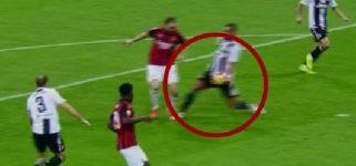 """Milan-Juve, la moviola di Gazzetta: """"Il braccio di Benatia ferma una promettente azione d'attacco: meritava il giallo. Poteva starci un altro rigore per i rossoneri"""""""