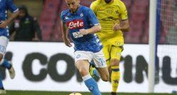 """Tuttosport: """"Mertens motivato come non mai: vuole dimostrare che non serve Cavani per far volare il Napoli ed ha in mente di superarlo come gol in Europa"""""""