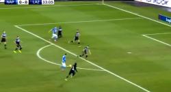 Gol di Callejon, azzurri in vantaggio! Napoli 1 Lazio 0 [VIDEO]