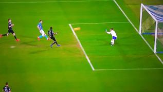 Azzurri in vantaggio, gol di Arek Milik! Napoli 1 Sampdoria 0 [VIDEO]
