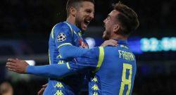 """Mertens su Fabian: """"Ha un grande futuro, tra qualche anno lo vedremo in un top club"""""""
