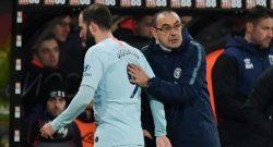 """Chelsea, Sarri: """"Higuain? Vorrei restasse ma la situazione con la Juventus non è chiara, dipende tutto dai bianconeri"""""""