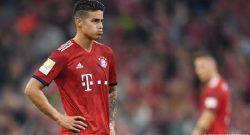ULTIM'ORA - James Rodriguez non resterà al Bayern Monaco. Lo ha annunciato Rummenigge