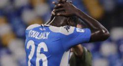 Espulsione Koulibaly Napoli-Cagliari, stangata in vista? Gazzetta: salterà almeno una giornata di campionato