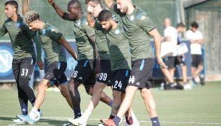 SSC Napoli, i convocati per il match con il Brescia: c'è Maksimovic