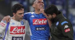 """Allan rassicura i tifosi del Napoli: """"Solo un grande spavento, nulla di grave…sto già lavorando per tornare prima possibile!"""""""
