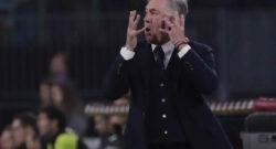 Tuttosport - De Laurentiis vuole risposte da squadra e tecnico: Milan e Liverpool decisive per Ancelotti