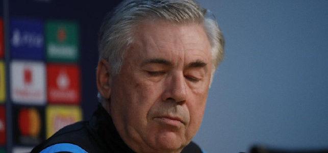 """Ancelotti: """"Ripartenza Mario Rui? Mi sono arrabbiato anch'io ma è cattiva informazione: hanno rifiatato, è normalissimo"""""""