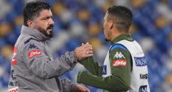 Formazioni ufficiali Brescia-Napoli: le scelte di Diego Lopez e Gattuso, out Callejon!