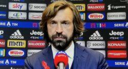 """Juventus, Pirlo: """"Inter e Milan favorite, noi cerchiamo di recuperare. Napoli? La sentenza…"""""""