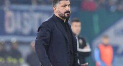 """Napoli disastroso, tifosi furiosi: """"Gattuso da esonerare! Fabian giocava con loro"""""""