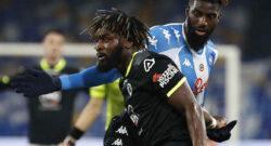 """Spezia, Corradino: """"Il Napoli ha sprecato tanto, ma noi abbiamo fatto un'impresa. Nzola in azzurro? A gennaio non si muove"""""""