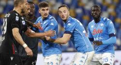 Juventus-Napoli, CdM: rivoluzione in difesa, gioca Rrahmani con Koulibaly! Out Manolas e Maksimovic