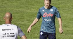 Polonia, Zielinski out contro l'Inghilterra: è a forte rischio per Napoli-Juve