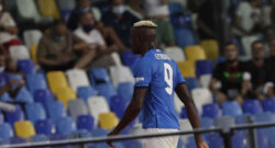 Napoli, c'è il problema Osimhen: gli serve un visto speciale per giocare in Europa